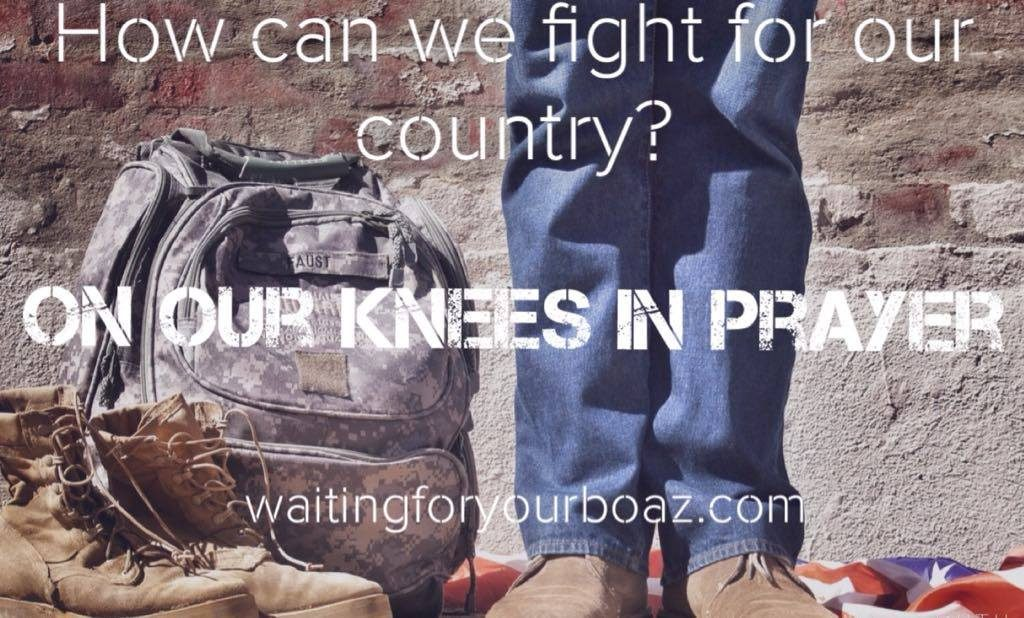 On our Knees in Prayer
